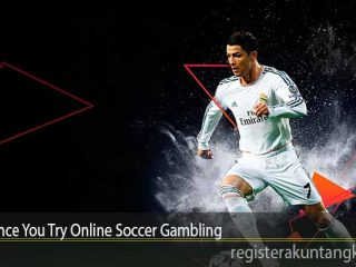 Win Once You Try Online Soccer Gambling